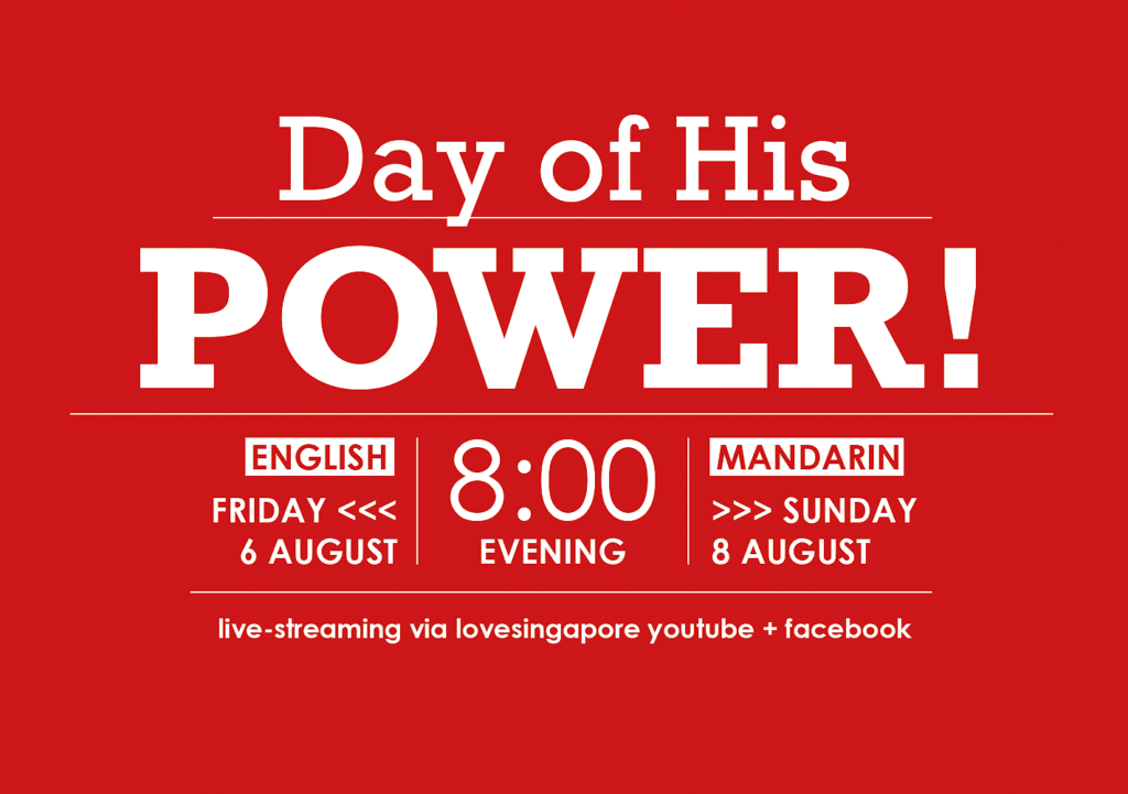 Day of His Power 2021