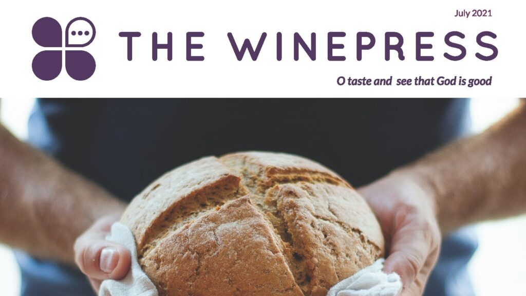 July 2021 WinePRESS Cover